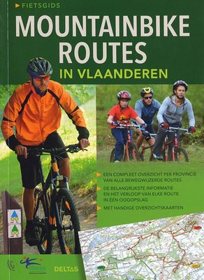 Boek Mountainbike Routes in Vlaanderen