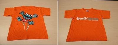 T-shirt - kind - oranje