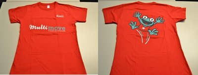 T-shirt - Volwassen vrouw - rood