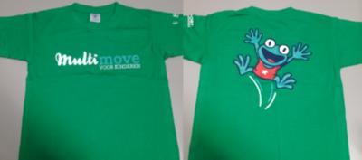 T-shirt - kind - groen
